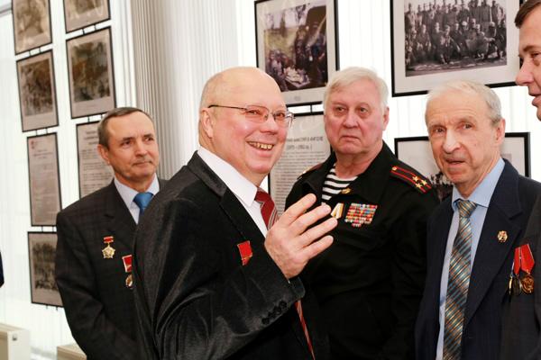 Члены делегации Союза  В. Шальнев, С.Коломнин, С. Ремизов, А. Хекалов