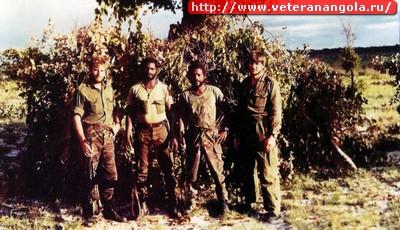 Диверсионная группа 5-го Reconnaissance commando в Анголе